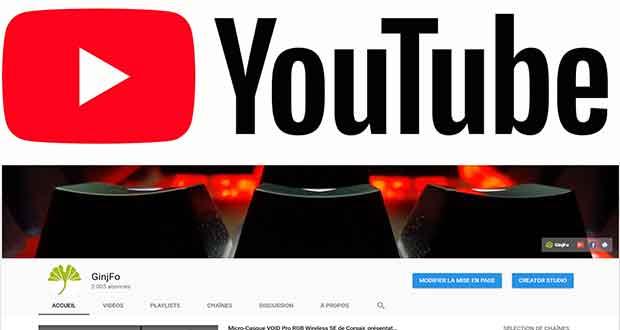 YouTube change de Logo et d'interface