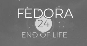 Distribution Linux Fedora 24 - End Of Life
