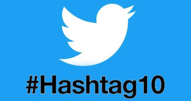 #Hashtag10, Twitter fête les 10 ans de l'hashtag