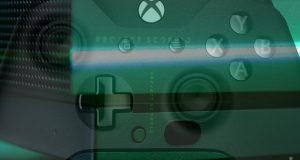 Edition spéciale et limitée de la console Xbox One X de Microsoft aux couleurs du « project Scorpion »