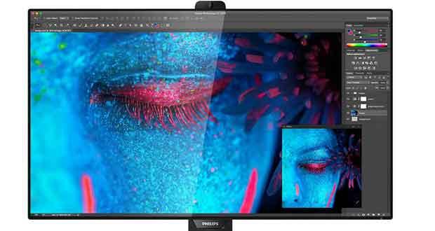 Moniteur Philips 328P8K 32 Ultra HD 8K