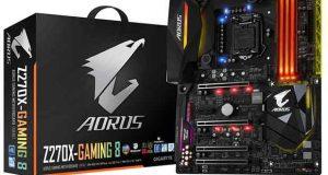 Carte mère Aorus Z270X Gaming 8 de Gigabyte