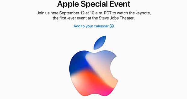 Apple Special Event 2017 - iPhone X et iPhone 8