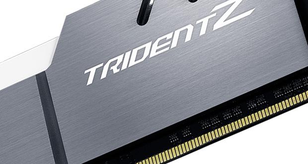 Mémoire vive DDR4 Trident Z de G.Skil