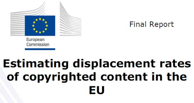 Etude - Estimating displacement rates of copyrighted content in the EU