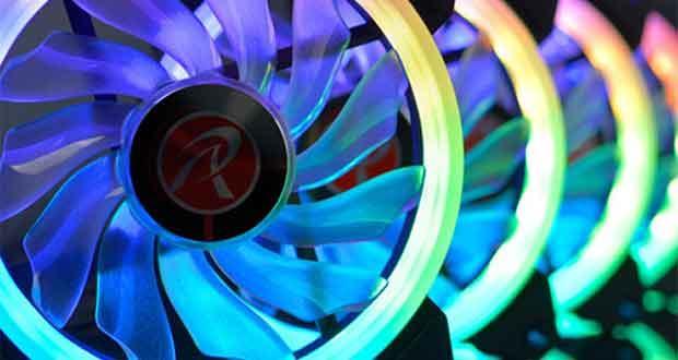 Ventilateur Iris 12 Rainbow RGB de Raijintek