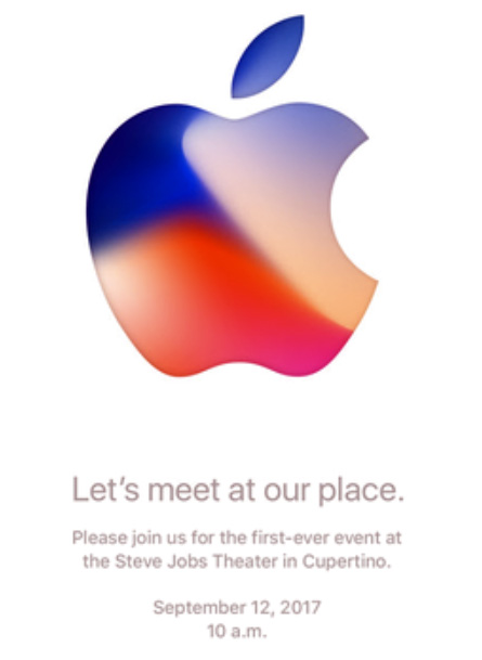 Keynote 2017 - Invitation officielle d'Apple
