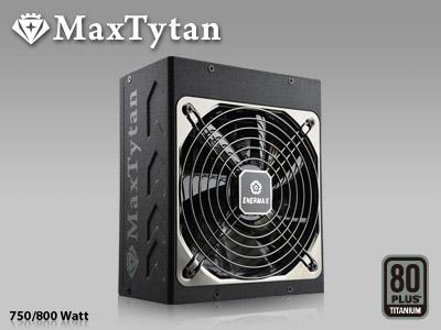 MaxTytan d'Enermax, du 100% modulaire en 80Plus Titanium, semi-fanless et autonettoyant