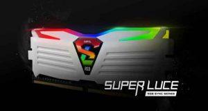 Mémoire DDR4 Geil Super Luce RGB Sync series