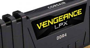 Kit Black Vengeance LPX 16 Go (2x8Go) 4600 MHz de Corsair