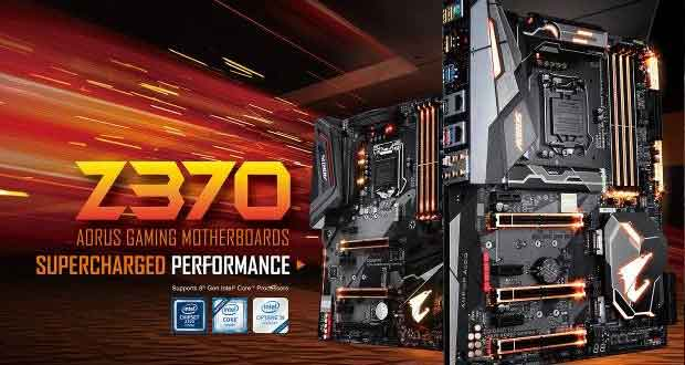 Carte mère Gigabyte Z370 AORUS Gaming