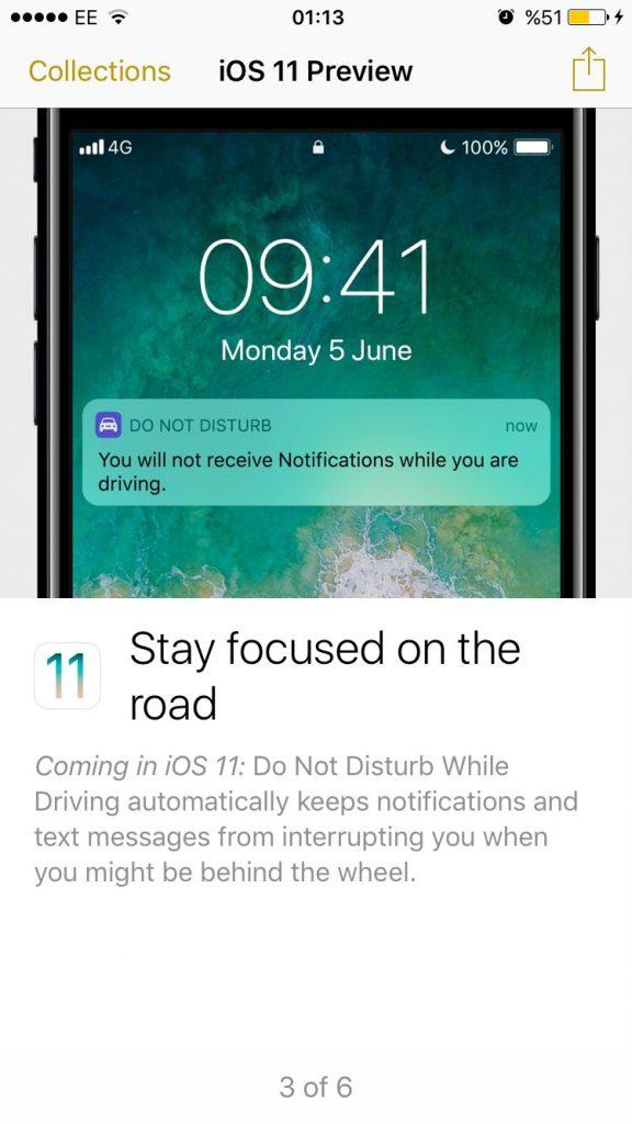 Système d'exploitation iOS 11 d'Apple