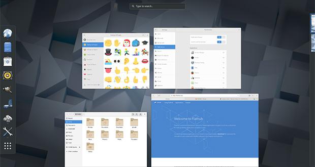 """Environnement de bureau GNOME 3.26 """"Manchester"""""""