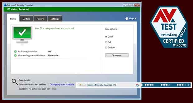 Les meilleurs logiciels antivirus pour Windows Particuliers - Évaluation du produit et rapport de certification AV-TEST – juil.-août/2017