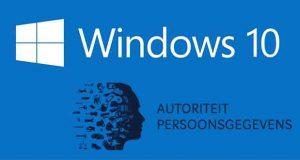 Windows 10 - l'Autoriteit Persoonsgegevens