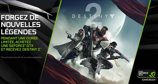 GeForce GTX 1080 Ti ou GTX 1080 et le bundle Destiny 2