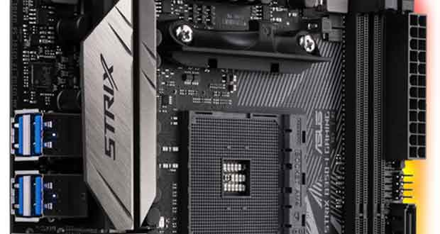 Carte mère Asus ROG STRIX B350-I Gaming