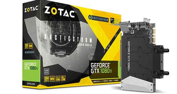 GeForce GTX 1080 Ti ArcticStorm Mini
