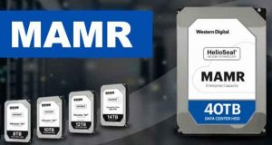 Western Digital – Technologie MAMR (microwave-assisted magnetic recording)