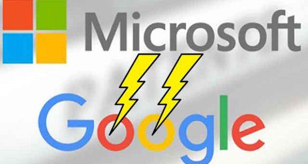 Securité - Microsoft Vs Google