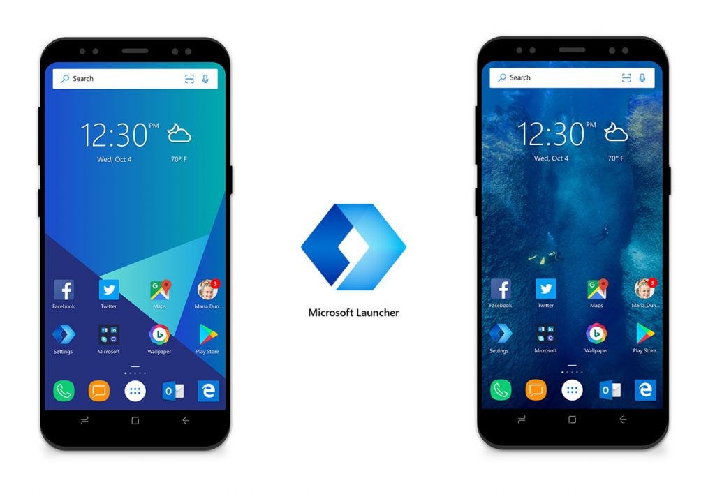 Android - Microsoft Launcher