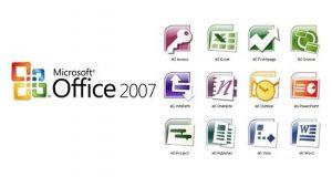 Suite bureautique Office 2007 de Microsoft