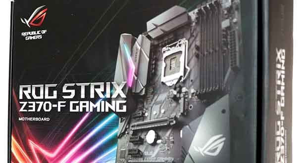 Cette carte mère ROG Strix Z370-F Gaming