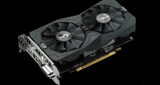 ROG Strix Radeon RX 560 OC Edition (référence : ROG-STRIX-RX560-O4G-EVO-GAMING)