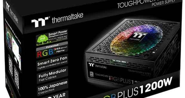 Alimentation Toughpower iRGB Plus Platinum de Thermaltake