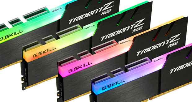 DDR4 Trident Z RGB de G.Skill