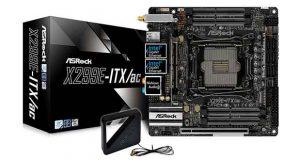 Carte mère X299E-ITX/ac d'ASRock