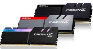 G.Skill - Kit DDR4 Trident Z
