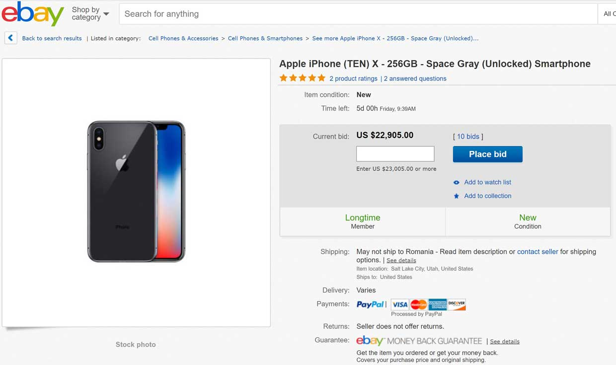Iphone  Prix Ebay