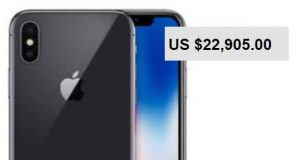 iPhone X - Des tarifs gargantuesques sur Ebay