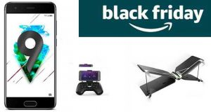 Black Friday - Pack Honor 9 Smartphone portable débloqué 4G + Drone Parrot Swing