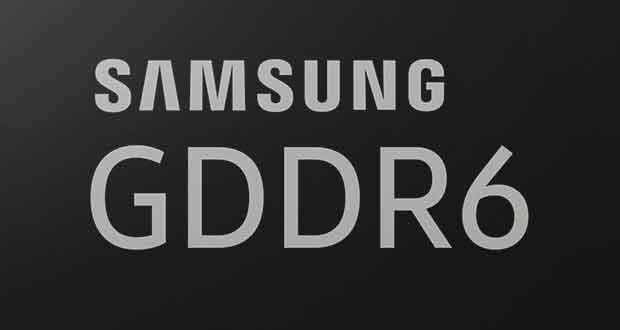 Samsung 16Gb GDDR6 Memory