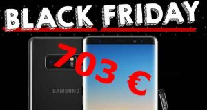 Black Friday - Galaxy Note 8 64 Go Dual SIM
