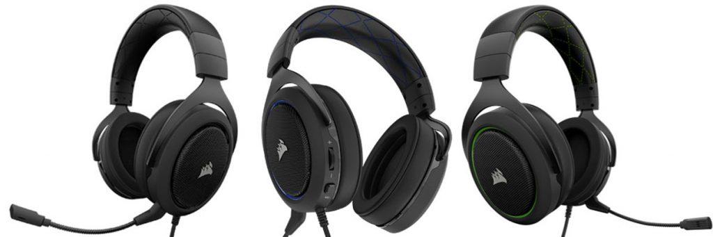 casque gaming stéréo HS50