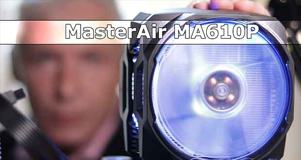 MasterAir MA610P, vidéo de Unboxing et présentation