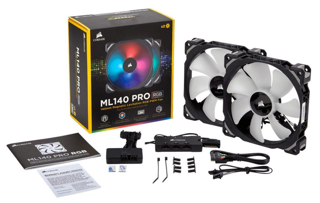 Kit ML140 PRO RGB de Corsair