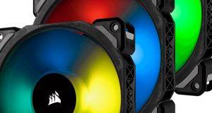 Kit ML120 PRO RGB de Corsair