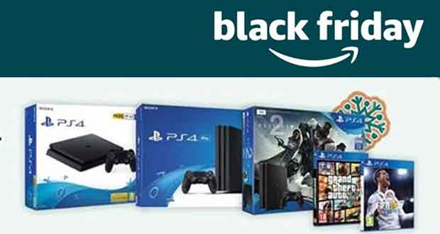 PlayStation 4 - les offres du Black Friday 2017