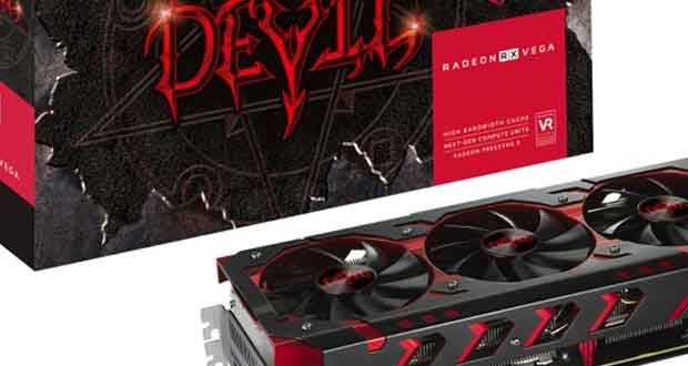 Radeon RX Vega 64 Red Devil de PowerColor