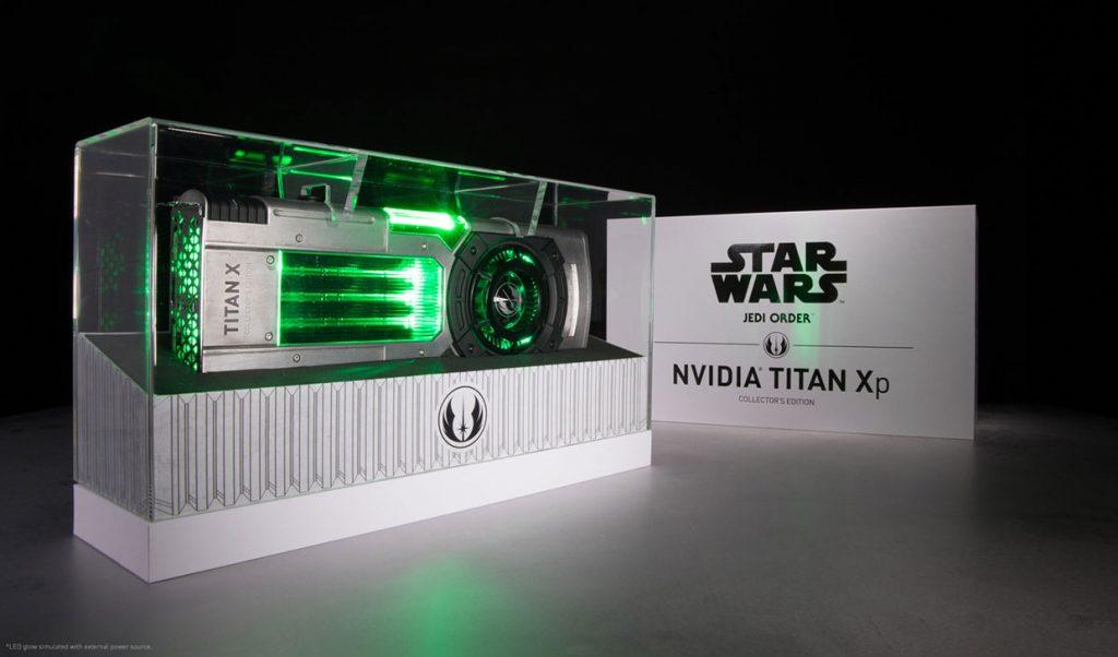 Titan Xp Jedi Order de Nvidia