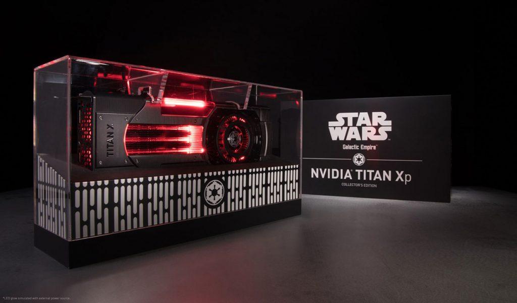 Titan Xp Galactic Empire de Nvidia