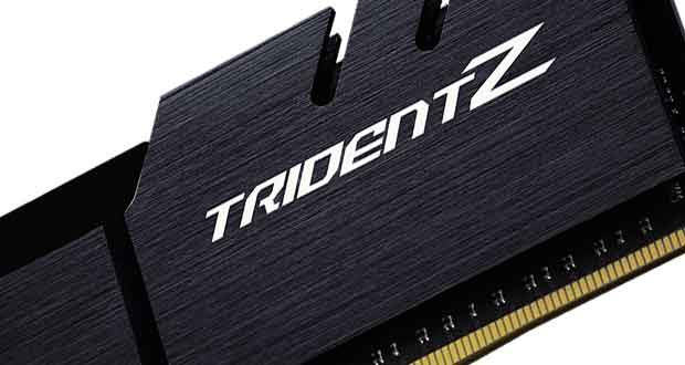 Mémoire DDR4 Trident Z de G.Skill