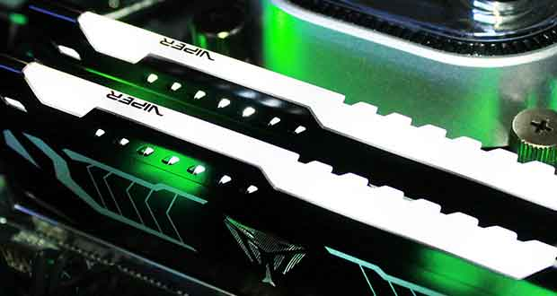 DDR4 Viper LED de Patriot