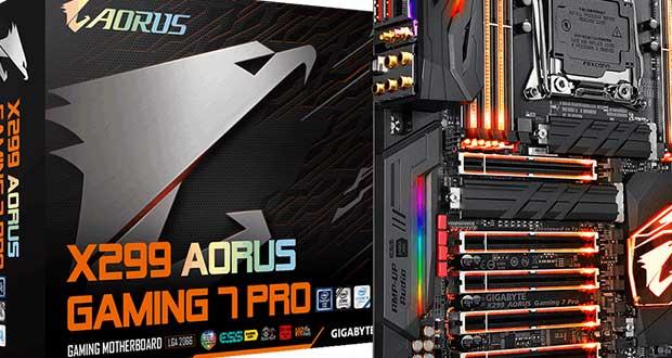 Carte mère Gigabyte X299 AORUS Gaming 7 Pro