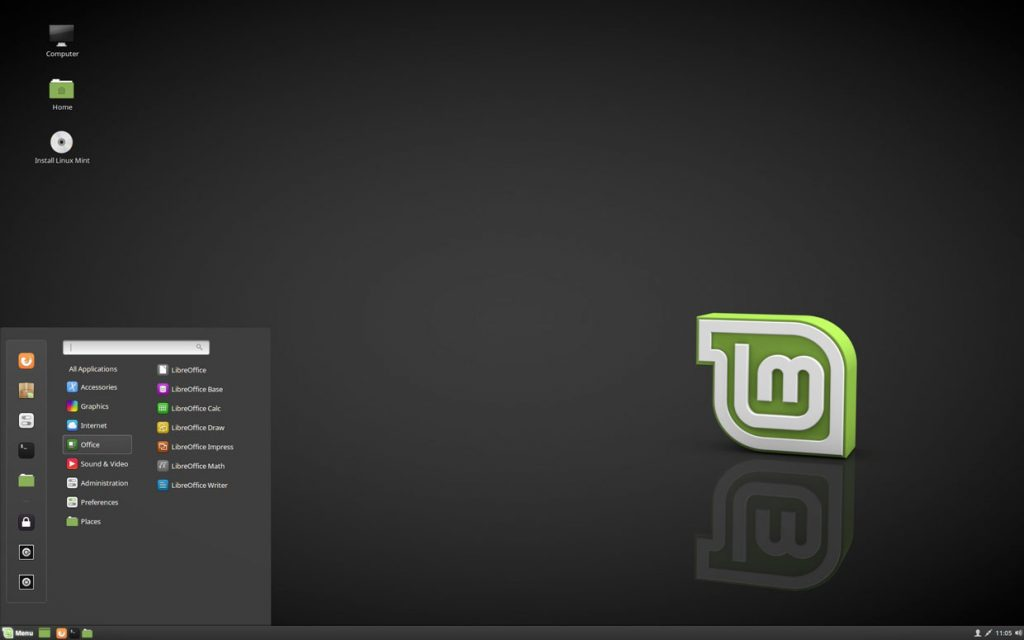 Linux Mint 18.3 « Sylvia » Cinnamon Edition
