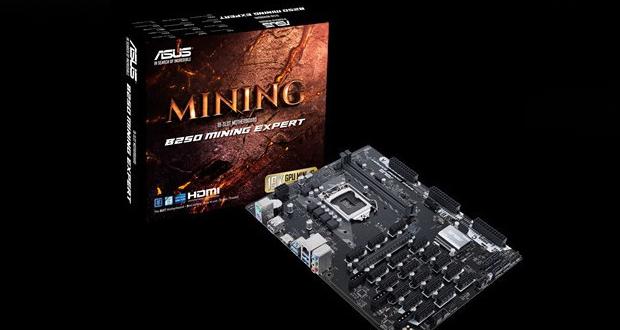 Carte mère B250 Mining Expert d'Asus